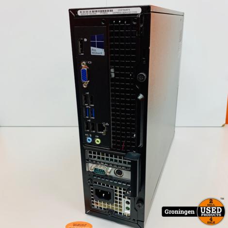 Dell Optiplex 3020 | Core i3-4160 @ 3,60 GHz | 4GB RAM | 500GB | Win 10 Pro