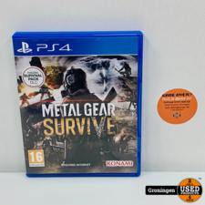 PlayStation 4 [PS4] Metal Gear Survive