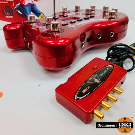 Behringer V-amp3 gitaar effectunit met USB audio interface | incl. boekjes en doos