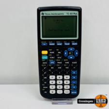 Texas Instruments Texas Instruments TI-83 Plus Grafische rekenmachine | excl. afdekkap