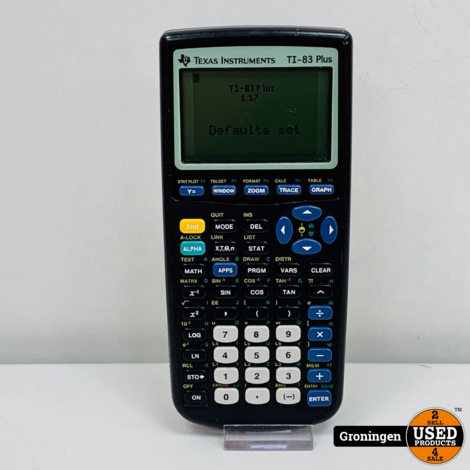 Texas Instruments TI-83 Plus Grafische rekenmachine | excl. afdekkap