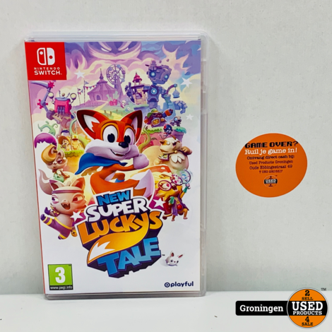 [Switch] New Super Lucky's Tale