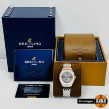 Breitling Breitling Horloge Premier Collection 40mm A37340351B1A1   COMPLEET IN DOOS   incl. garantie-kaart (16-11-19)