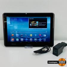 Samsung Samsung Galaxy Tab 2 10.1 16GB Wi-Fi Titanium SM-P5113 | Android 4.2.2 | incl. lader
