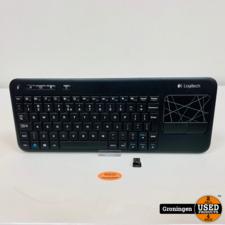 Logitech Logitech K400R Wireless Touch Keyboard (QWERTY) | incl. USB-dongle