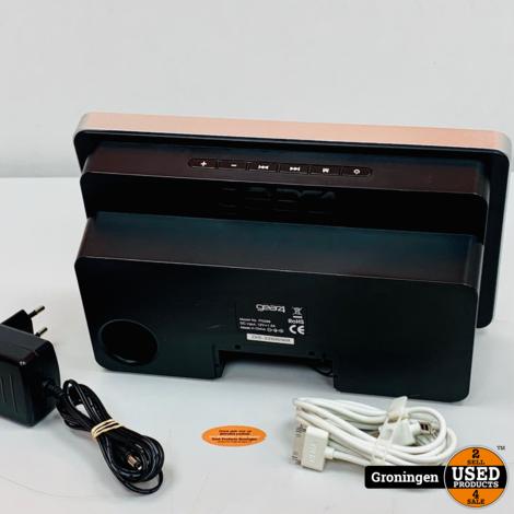 Gear4 PG296 HouseParty 4 | iPod Speakerdock met AUX-input | incl. Apple iPod Nano V5 8GB Roze (accu defect) | incl. adapter en 30-pins kabel