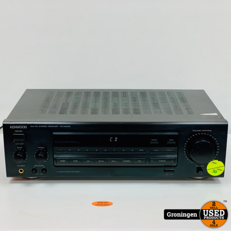 Kenwood KR-A4040 AM/FM Stereo Receiver