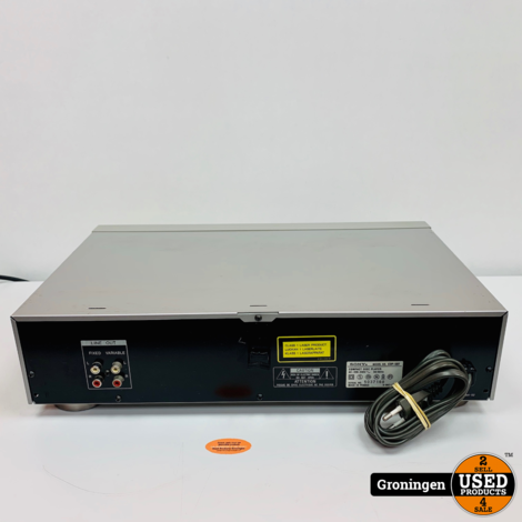 Sony CDP-597 CD-speler Zilver   KSS-240A   CXD2561AM