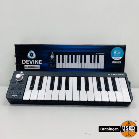 Devine EZ-Creator Key USB/MIDI keyboard, in doos