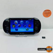 [PSV] Sony PS Vita PCH-1004 Wi-Fi | OS 3.73 | incl. 4GB Memory Card en lader