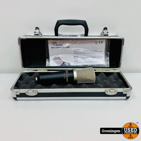 the t.bone SC 450 | Groot-Membraan Microfoon | incl. koffer