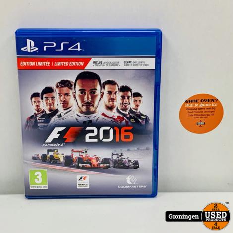 [PS4] F1 2016