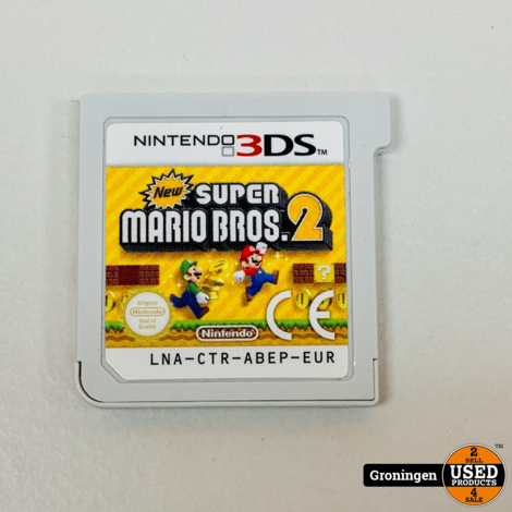[3DS] New Super Mario Bros 2 | LNA-CTR-ABEP-EUR | losse cassette