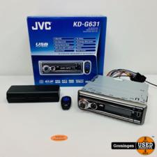 JVC JVC KD-G631EY Autoradio met CD en USB met AB | 4x 50w | NIEUWSTAAT! COMPLEET IN DOOS