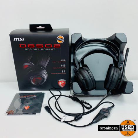 MSI DS502 Gaming Headset USB (PC) | NIEUW IN DOOS!