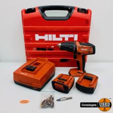 Hilti Hilti SFC14-A Li-Ion Accuboormachine 14v | 2010 | incl. 2 accu's, lader en koffer