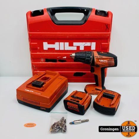 Hilti SFC14-A Li-Ion Accuboormachine 14v | 2010 | incl. 2 accu's, lader en koffer