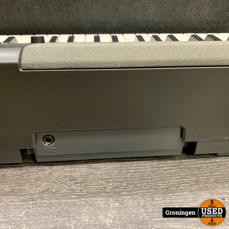 Casio CDP-100 Digitale Piano Zwart | incl. Sustain-pedaal, adapter en Flightcase