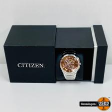 Citizen Citizen Eco-Drive H500-S054893   Chronograaf horloge   incl. extra schakels, boekje en doos