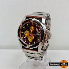 Festina Festina F16273/5 Tour de France Chronograaf horloge Ø45mm | RVS Armband | Glas beschadigd