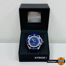 KYBOE! Chrono Series horloge KYC-001 (55mm) | NETTE STAAT! | incl. doos