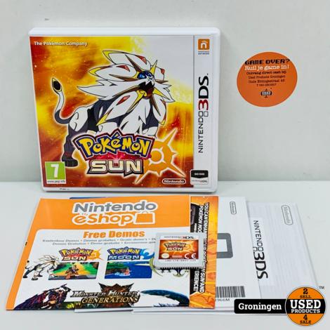 [3DS] Pokemon: Sun