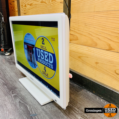 Samsung UE26EH4510W 26'' HD LED TV met Smart-functies en Wi-Fi   incl. AB