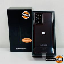 Samsung Samsung Galaxy Note 20 Ultra 5G 256GB Mystic Black | NIEUW IN DOOS! | nota (01-09-2020)
