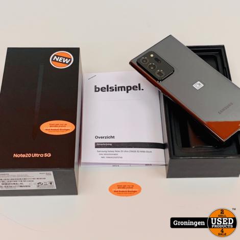 Samsung Galaxy Note 20 Ultra 5G 256GB Mystic Black | NIEUW IN DOOS! | nota (01-09-2020)