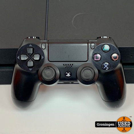 [PS4] Sony PlayStation 4 1TB Zwart CUH-1216B | incl. Sony DualShock 4 controller en kabels