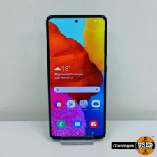 Samsung Samsung Galaxy A51 128GB Prism Crush Blue | Android 10 | incl. lader