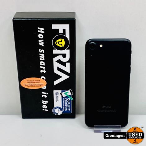 Apple iPhone 7 32GB Black   ZEER NETTE STAAT! Forza Refurbished   incl. lader en doos