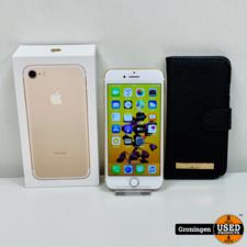 Apple Apple iPhone 7 32GB Gold | NETTE STAAT! NIEUWE ACCU | incl. FlipCover, lader, boekjes en doos