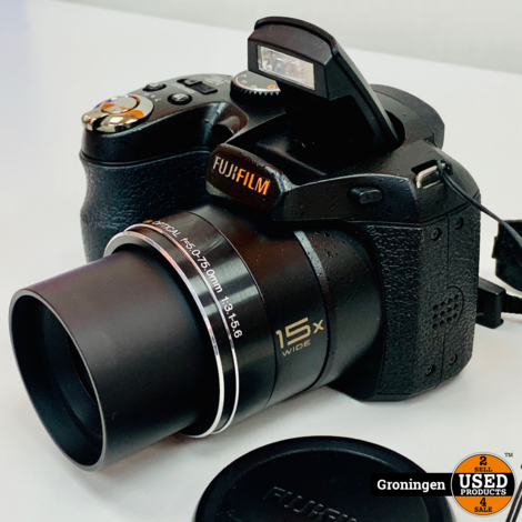 Fujifilm FinePix S1600   12,2MP   15x optische zoom   incl. schouderriem