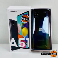 Samsung Samsung Galaxy A51 128GB Prism Crush Black | NIEUW IN DOOS! | nota (08-05-20)