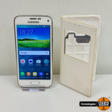 Samsung Samsung Galaxy S5 Mini G800F 16GB White 4G | Android 6.0 | NETTE STAAT! incl. Samsung FlipCover