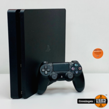 Sony PlayStation 4 [PS4] Sony PlayStation 4 Slim 500GB Zwart   incl. Sony DualShock 4 controller en kabels
