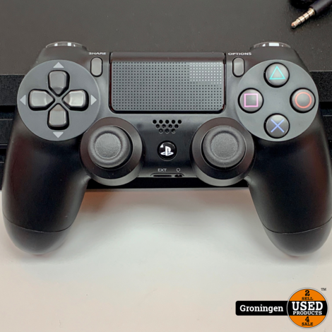 [PS4] Sony PlayStation 4 Pro 1TB CUH-7216B | NETTE STAAT! | incl. DualShock 4 Controller, Chat Headset en kabels