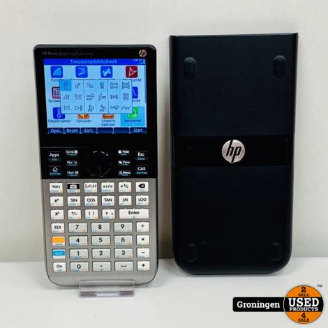 HP Prime Grafische Rekenmachine | incl. Safe Case