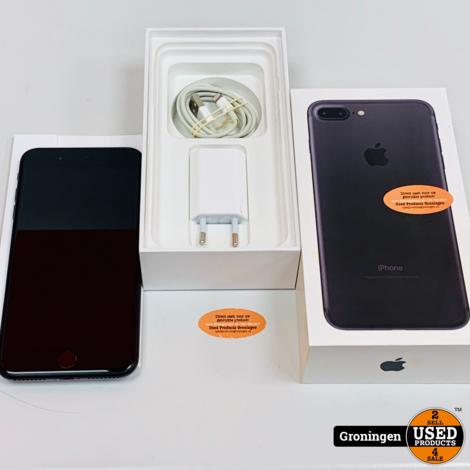 Apple iPhone 7 Plus 128GB Black | Accu 85% | incl. lader, boekjes en doos
