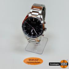 Hugo Boss Hugo Boss 1513712 Pioneer RVS Chronograaf horloge Ø44mm | NETTE STAAT!