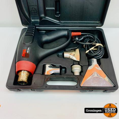 Skil 8003 Heteluchtpistool 1800 watt   incl. accessoires en koffer
