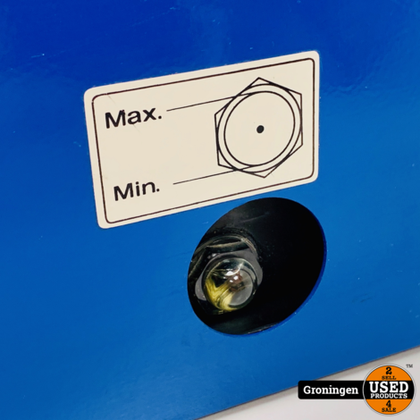 Airbrush Compressor fluisterstil   Werkdruk tot 10 bar   95 watt