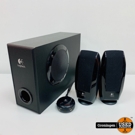 Logitech S-220 2.1 Speakerset | met losse volumeregeling