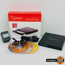 Gembird Externe USB CD/DVD drive | COMPLEET IN DOOS