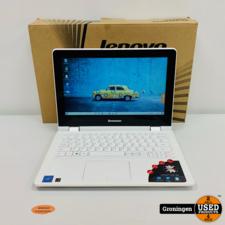 Lenovo Lenovo Yoga 300-11IBR 80M100T5MH | 11.6'' HD Touchscreen 360° draaibaar | 4GB | 64GB | Win 10 | COMPLEET IN DOOS