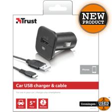 Trust Trust 19347 Universele Autolader & micro USB-kabel | NIEUW