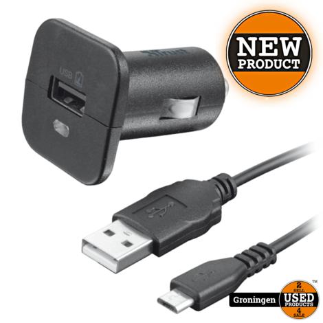 Trust 19347 Universele Autolader & micro USB-kabel | NIEUW