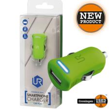 Trust Trust 20154 Universele 5W-USB-oplader met 12-24V-autoaansluiting Lime Groen | NIEUW