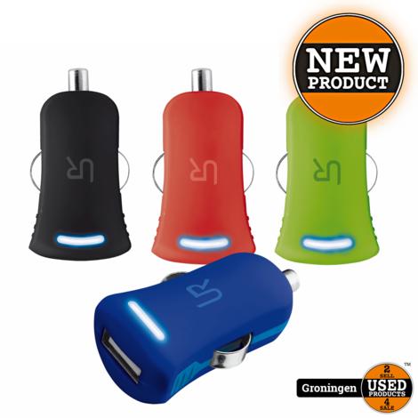 Trust 20151 Universele 5W-USB-oplader met 12-24V-autoaansluiting zwart | NIEUW